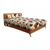 Кровать Вика Сафари 90 с матрасом 90х202х80 см