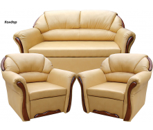 Комплект мягкой мебели Вика Бостон 211 с не раскладными креслами