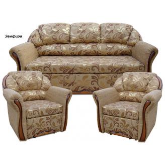 Комплект мягкой мебели Вика Бостон 311 с не раскладными креслами