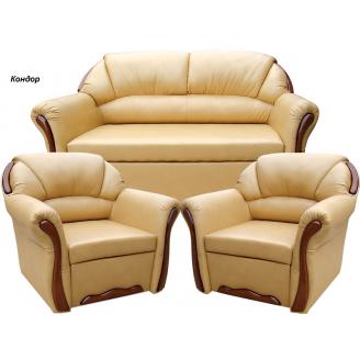 Комплект м'яких меблів Віка Бостон 211 з не розкладними кріслами