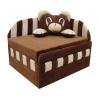 Детский диван Вика Панда 84x98х75 см с подушкой
