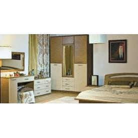 Спальня БМФ Верона 1500х2060х530 мм венге світлий / дуб рустикаль
