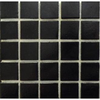 Мозаика VIVACER FA 51 для ванной комнаты на бумаге 32,7x32,7 cм черная