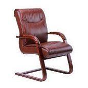 Кресло AMF Монтана CF кожа Люкс коричневая 62x68x94 см