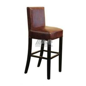 Барний стілець AMF Танго Мадрас дарк браун 420х420х1050 мм венге