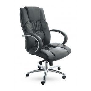 Кресло AMF Монако НВ PU черный  66x70x110 см
