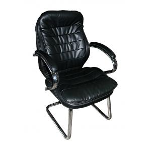 Кресло AMF Валенсия CF PU черный 63x68x105 см хром