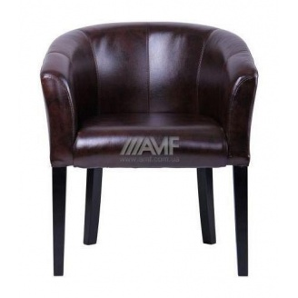 Кресло AMF Велли Мадрас дарк браун 680х650х790 мм венге