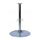 База для столу AMF Кристал 720x550 мм хром