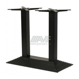 База для стола AMF Пирамида дабл 720x700x400 мм черный