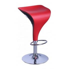 Барний стілець AMF Амур 1 (FT-807-1) 390х400х820 мм червоний
