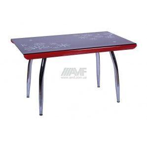 Стол обеденный AMF Импреза 1300х800х750 мм черный