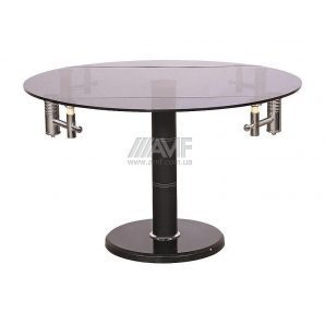 Стол обеденный AMF B 168-9 1220x770x750 мм черный