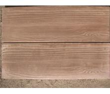 Тротуарная плитка Доска 600х200х30 мм коричневая