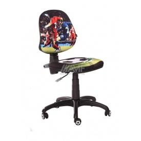 Дитяче крісло AMF Футбол Спорт 610x610x835 мм чорний