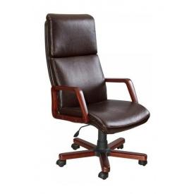 Кресло AMF Техас Экстра Мадрас дарк браун 62x85x121 см орех