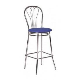 Барный стул AMF Ванесса Хокер Неаполь N-22 420х470х1110 мм алюминий