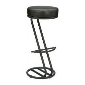 Барный стул AMF Зета Хокер Винилискожа черная 370х370х850 мм черный