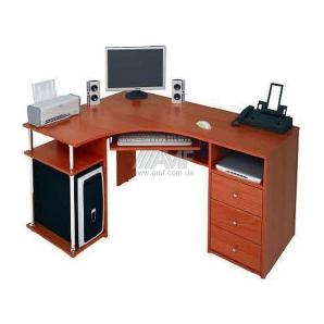 Стол компьютерный AMF С820 1500x1100x750 яблоня