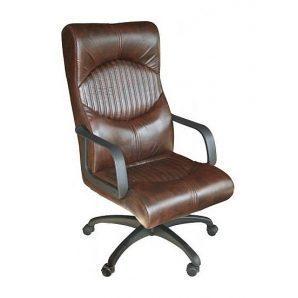 Кресло AMF Геркулес Пластик Мадрас дарк браун 62x82x119 см