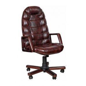 Кресло AMF Марракеш Экстра Anyfix Мадрас дарк браун 66x79x112 см вишня