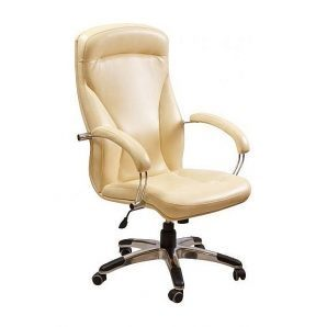 Кресло AMF Хьюстон MB Мадрас голд беж 67x82x120 см хром