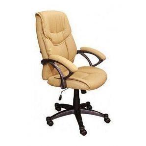 Кресло AMF Фокси HB PU бежевый 70x65x88 см