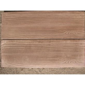 Тротуарна плитка Дошка 600х200х30 мм коричнева