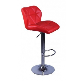 Барный стул AMF Венсан к/з красный (FT-902A) 430х480х1070 мм