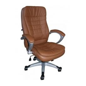 Кресло AMF Вариус HB PU коричневый 72x67x108 см