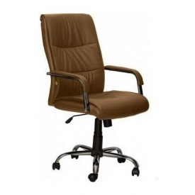 Кресло AMF Рио HB PU коричневый 69x59x92 см