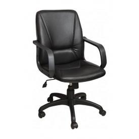 Кресло AMF Лига Пластик Скаден черный 60x74x97 см