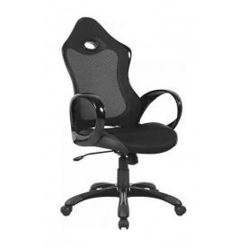 Крісло AMF Матрикс-1 сітка чорна/сітка чорна 69x76x113 см чорний