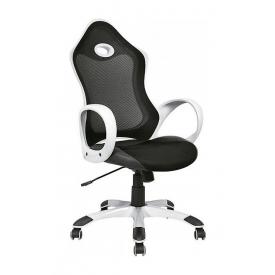 Кресло AMF Матрикс-1 сетка черная/сетка черная 69x76x113 см белый