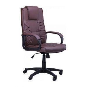 Кресло AMF Тулуза HB PU коричневый 65x65x116 см