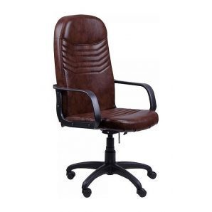 Кресло AMF Стар Пластик Мадрас дарк браун 65x74x117 см