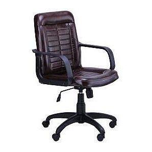 Крісло AMF Нота Пластик Мадрас дарк браун 60x76x97 см
