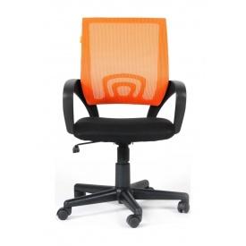 Крісло AMF Веб сітка чорна/сітка помаранчева 65x65x90 см