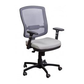 Крісло AMF Коннект сітка сіра/сітка сіра 70x70x107 см