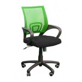 Крісло AMF Веб сітка чорна/сітка салатова 65x65x90 см