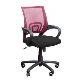Крісло AMF Веб сітка чорна/сітка червона 65x65x90 см