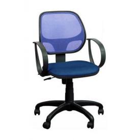 Крісло AMF Біт АМФ-8 сітка синя 64x64x90 см