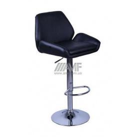 Барный стул AMF Вояж к/з черный (FT-1003) 520х470х880-1080 мм