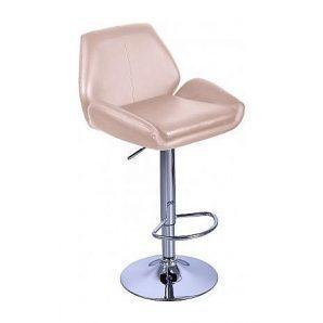 Барный стул AMF Вояж к/з бежевый (FT-1003) 520х470х880-1080 мм