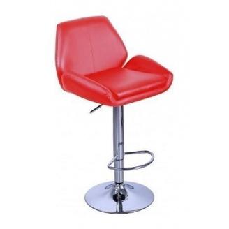 Барный стул AMF Вояж к/з красный (FT-1003) 520х470х880-1080 мм
