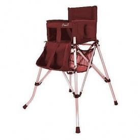 Дитячий стільчик для годування FemStar -One2Stay Folding Highchair червоний