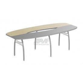 Стол конференционный AMF Арт Мобил M410 2300X1100х750 мм клен