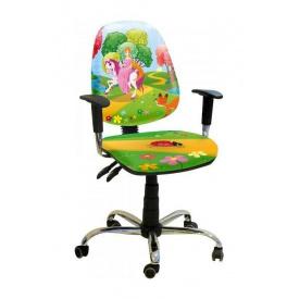 Крісло дитяче AMF Брідж Принцеса 650х650х1090 мм хром
