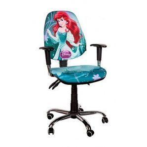 Кресло детское AMF Бридж Дисней Ариэль 650х650х1090 мм хром