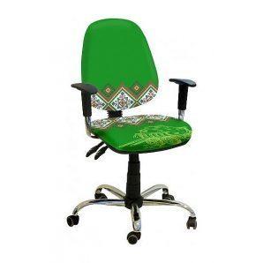 Кресло детское AMF Бридж Украина №2 650х650х1090 мм хром